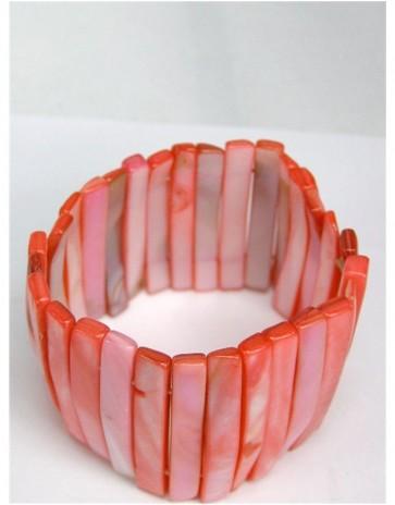 Pink Shell Bracelet - Unusual Design