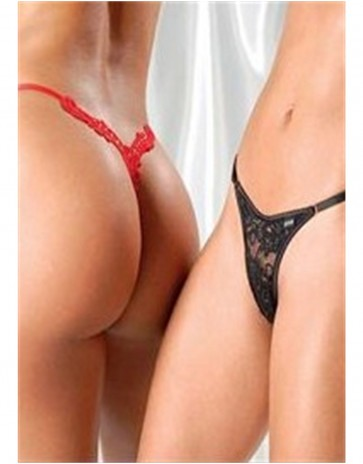 Sensualle The Look of Love Thong