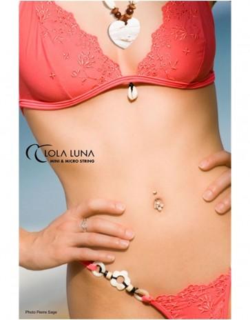 Coral Bermuda Bikini