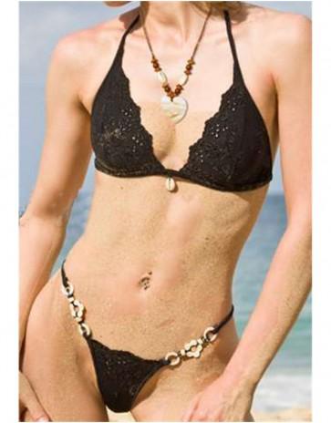 Black Bermuda Bikini by Lola Luna