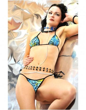 Blue Hawaiian Micro Bikini