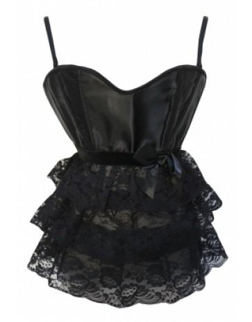Lovely Black Lace Corset