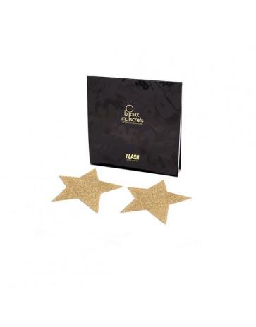 Bijoux Gold Star Flash Pasties