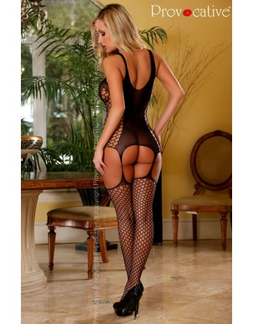 Black Bodystocking by Provocative Lingerie