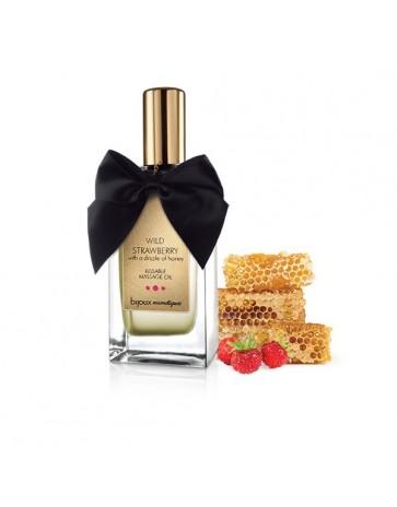 Bijoux Wild Strawberry Massage Oil