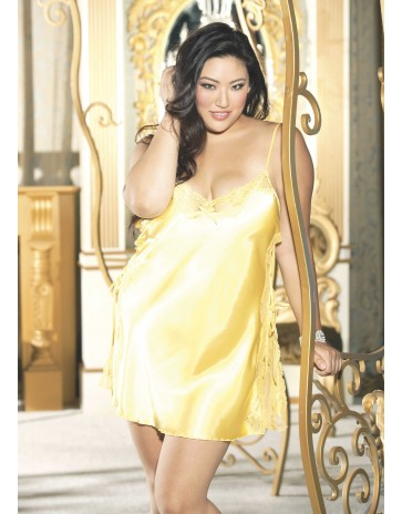 Plus Size Sexy Chemise X20015 by Shirley of Hollywood