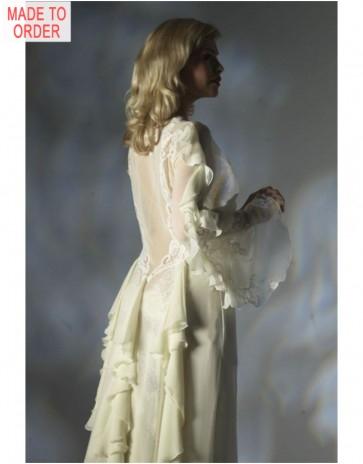 Silk Chiffon Robe by Jane Woolrich (3085)