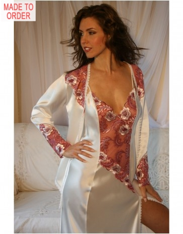 Silk Fransesca Nightdress by Diki