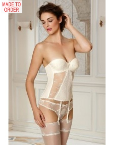 Lise Charmel Ultra Féminin Basque with Removable Straps and Suspender Belt