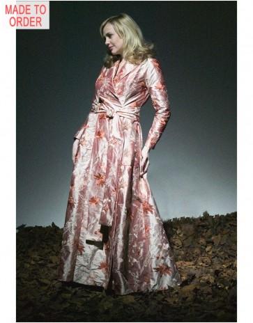 Stunning Pure Silk Robe By Jane Woolrich