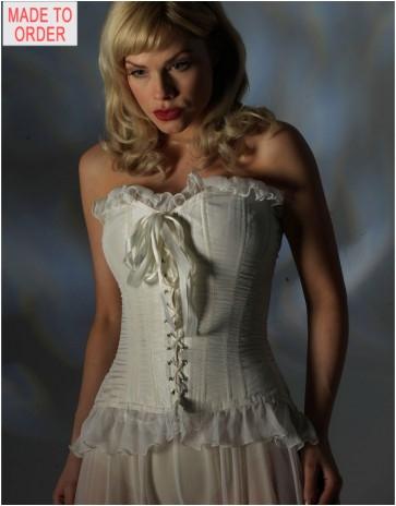 Jane Woolrich Designer Silk Corset 35-3