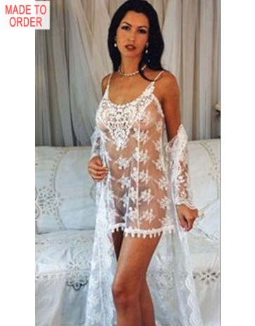 Exquisite Mimi Chemise and Robe by Diki