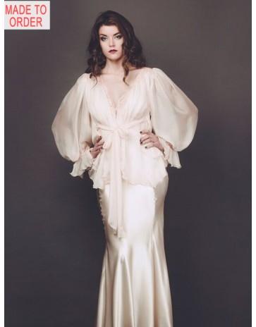 Liliana Casanova Chambord Short Dressing Gown