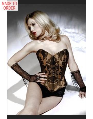 Designer Silk Corset by Jane Woolrich 43.3