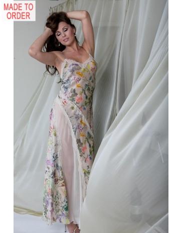 (82717) Luxury Silk Nightdress by  Jane Woolrich