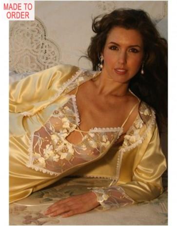 Beautiful Jasmine Silk Nightdress by Diki
