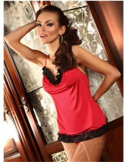 Giovanna Red Chemise by Beauty Nights