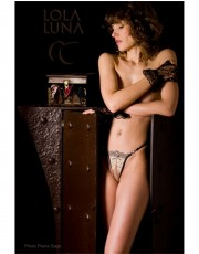 Lola Luna Seductive Pondicherry Lace Thong