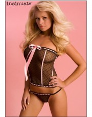 Insinuate Annabel Angel Bustier & Thong