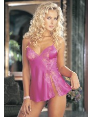 Shirley of Hollywood Pink Babydoll Set