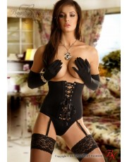 Beauty Nights Carmen Waspie Set - Black