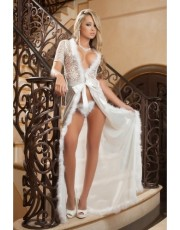 Sexy Glam Night Robe By Gworld - D1504