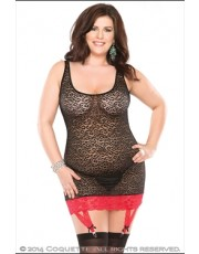 Leopard Chemise by Coquette
