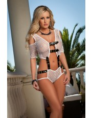 G World Sexy Fishnet Cami Set