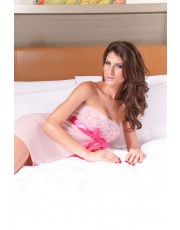 Pink Ribbon Babydoll Set One Size