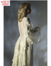 Silk Chiffon Robe by Jane Woolrich (3085)