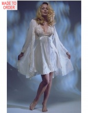 Jane Woolrich Luxury Chiffon Robe
