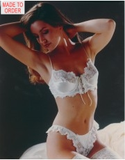 Silk Bra and Thong Set by Jane Woolrich