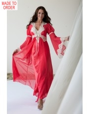 Jane Woolrich Sumptuous Luxury Silk Robe 7081