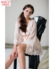 Silk Chiffon Robe by Jane Woolrich 7087