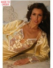 Beautiful Jasmine Silk Nightdress by Diki