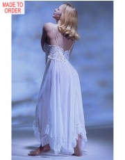 Delicate Swiss Voile Nightdress by Jane Woolrich